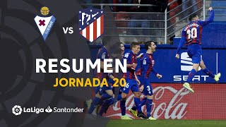 Resumen de SD Eibar vs Atlético de Madrid (2-0)