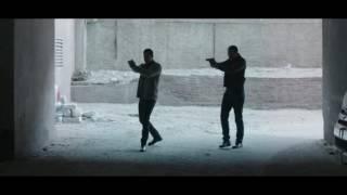 مسلسل الخروج - مشهد جريمة قتل آخري .. وكلب القتيل المسعور يهاجم الرائد ناصر محمود ويعضه
