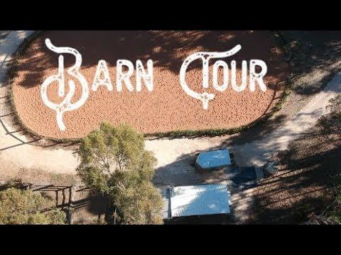 Barn Tour! - Inc drone footage