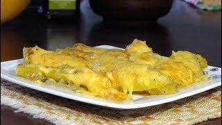 Тыква с сыром /Запеченная тыква с сыром в духовке