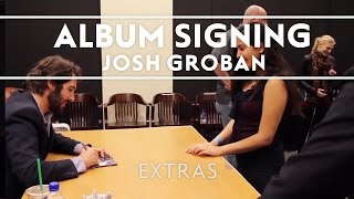 Josh Groban – Stages Album Signing at Barnes & Noble Los Angeles [EXTRAS]