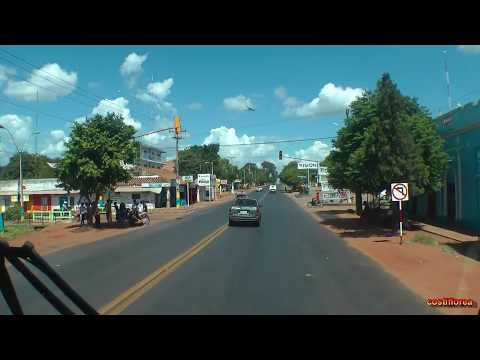 Paraguay - Asuncion to Yaguaron with bus -  South America Part 23 - Travel Video HD