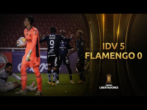 Independiente del Valle Flamengo RJ Goals And Highlights