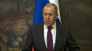 Пресс-конференция глав МИД РФ и Ирана от 05.10.21 - Россия 24
