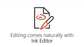 Editing comes naturally with Ink Editor in Microsoft Word