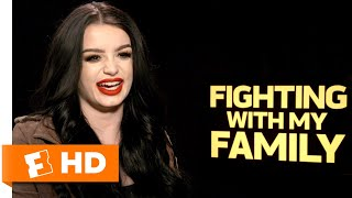 WWE Superstar Paige Recounts Her First Meeting With The Rock   'Fighting With My Family' Interview