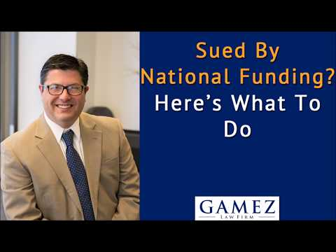 sued-by-national-funding-for-debt,-here's-what-to-do