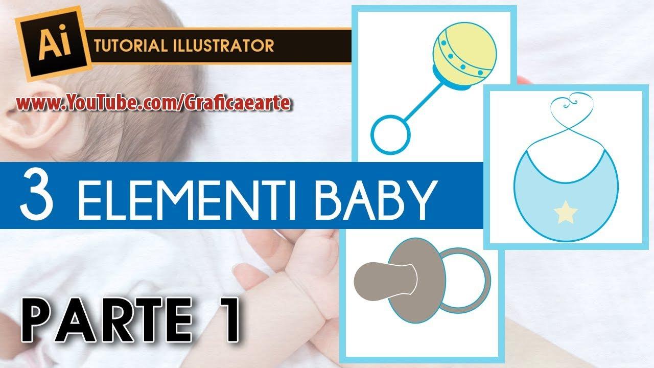 Tutorial 3 Disegni Baby Parte 1 Tut Illustrator 68 Youtube