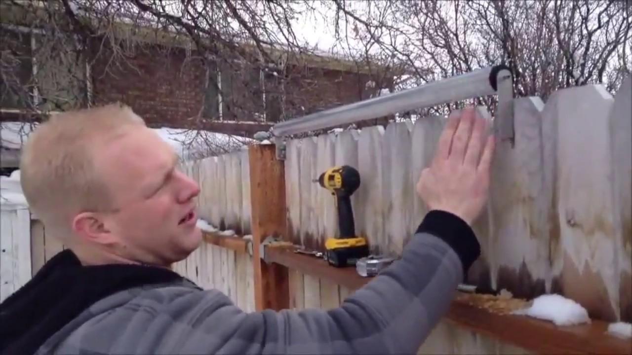 Coyote Roller Wood Or Vinyl Dog Ear Fence Installation
