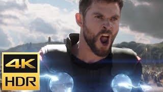 Подать Мне ТАНОСА!Бойня Тора и Чёрного Ордена.(Мстители: Война Бесконечности) 4K Ulta Movie