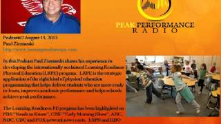Peak Performance Radio The Importance of Physical education with Paul Zientarski