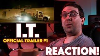 REACTION! I.T. Official Trailer #1 - Thriller Movie 2016