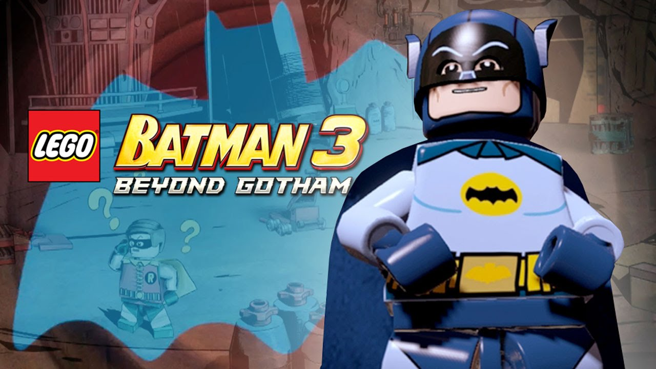 exclusive lego batman 3 level play-through
