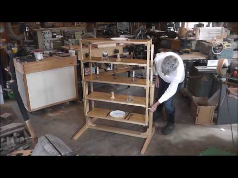 TABLE THAT CONVERTS TO A SHELF UNIT