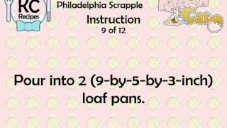 Philadelphia Scrapple - Kitchen Cat