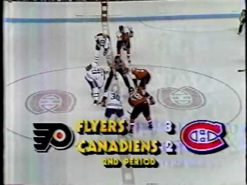 Flyers Pelle Eklund Incredible Goal! '87 Semi-Finals
