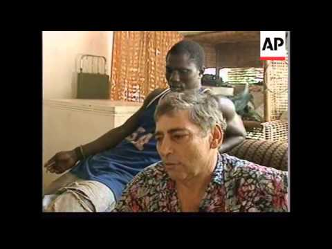 GUINEA BISSAU: GOVERNMENT TROOPS & REBELS EXCHANGE ARTILLERY