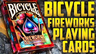 Deck Review - Bicycle FireWorks Playing Cards [HD]