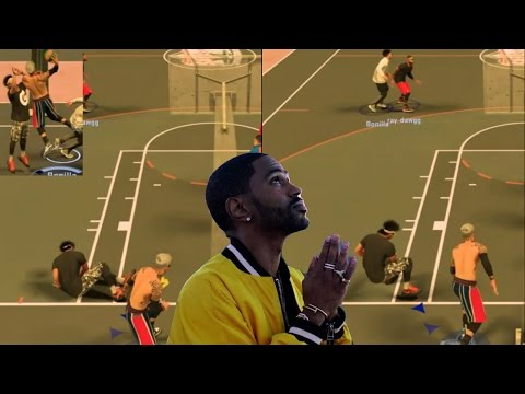 HE BOUNCED BACK AFTER I KILLED EM! (CONTACT DUNK GLITCH) | NBA 2K17 MyPark