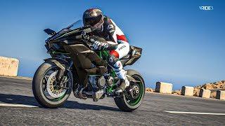 ถ้ามีปีกคงบินไปแล้ว - Kawasaki H2R Ride3