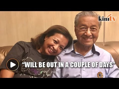 Marina: Mahathir should be discharged in a couple of days
