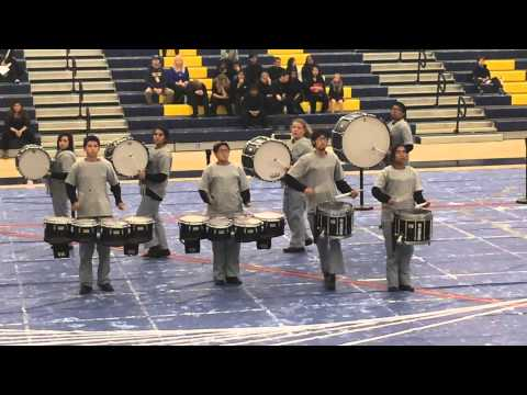 Los Banos High School Winter Percussion 2015 (Geometry My Dear)