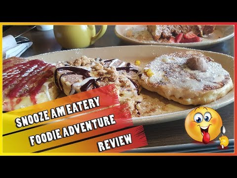 Best Breakfast Brunch Place In Orange County - Snooze - Foodie Review - The Amateur YouTuber