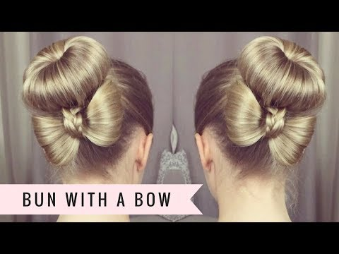 Bun With A Bow By SweetHearts Hair