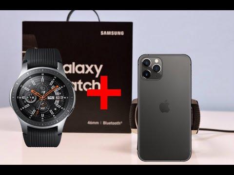 SAMSUNG GALAXY WATCH / FUNCIONA EN IPHONE?  REVIEW