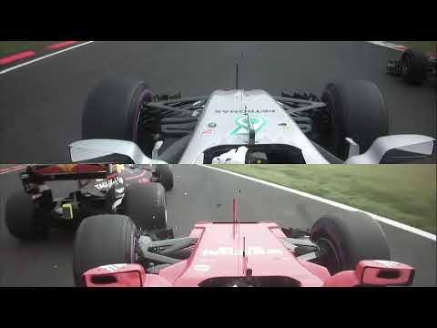 Mexico GP: Crash between Vettel, Verstappen and Hamilton on opening lap