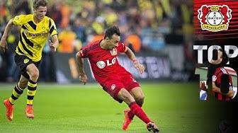 Top 10 Tore am 1. Spieltag: Bellarabi nach 9 Sekunden, Kießling & Kirsten | Bayer 04 Leverkusen