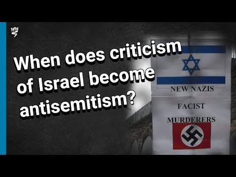 Between Antisemitism And Legitimate Criticism Of Israel