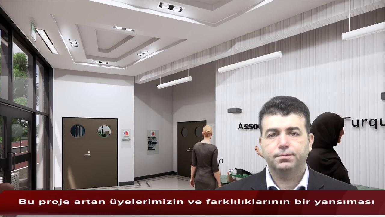 Yeni Kültür Merkezimizin 3D'li tanıtım filmi.