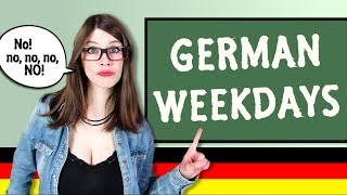 What the German Weekdays SHOULD BE CALLED