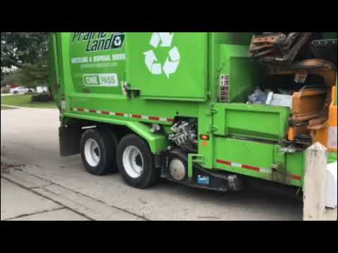 ONE PASS Trash And Recycle Operation