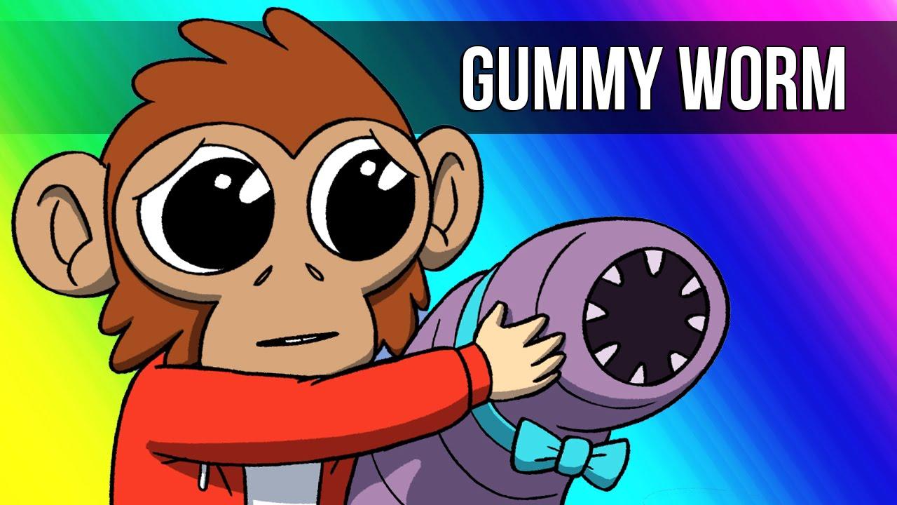 vanoss gaming animated lui s gummy worm youtube