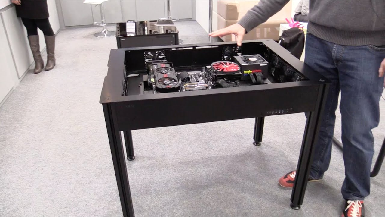 lian li dk 03 tischgeh use vorgestellt youtube. Black Bedroom Furniture Sets. Home Design Ideas
