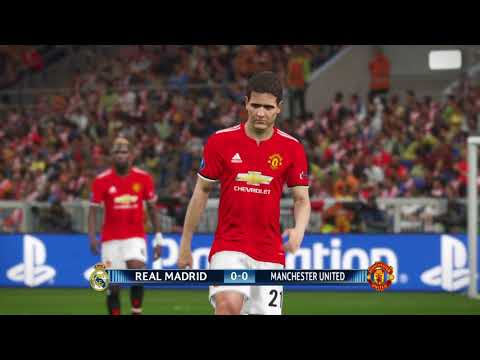 PES 2018 - UEFA Super Cup: Real Madrid vs Manchester United PS4
