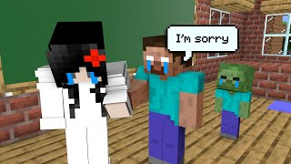Monster School : Make Girlfriend Laugh - Funny Minecraft Animation