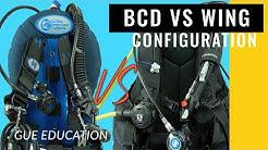 GUE Scuba Gear Configuration vs. Jacket-style Configuration