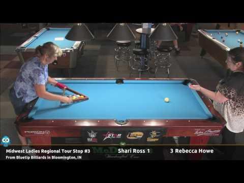 Shari Ross vs Rebecca Howe - 2017 MLRT Stop #3