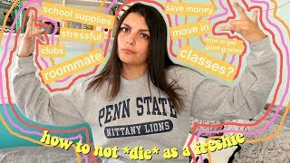the realest advice ever for your freshman year of college