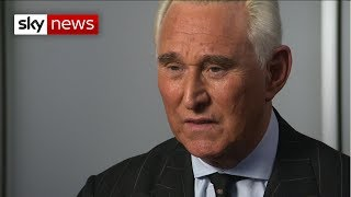 Donald Trump ally Roger Stone insists he's done nothing wrong