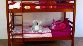 Solid Wood Twin & Full Bunk Beds And Low Loft Beds Koala Kids Beds Catalog.wmv