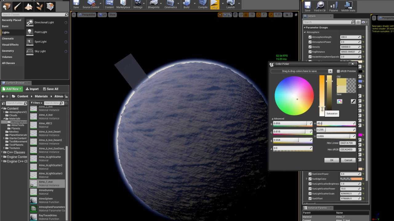 Simple Procedural Planets - BP only  - Unreal Engine Forums
