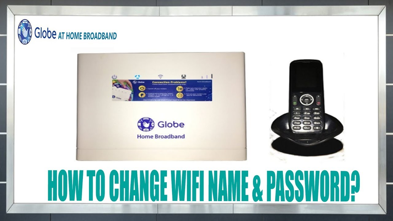 How to Change Globe Router WiFi name & Password (HUAWEI B315s-938)