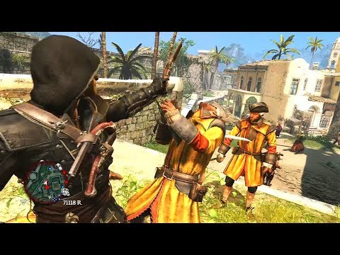 Assassins Creed 4 BlackFlag: Master Assassin Stealth Kills rampage stealth & combat thumbnail