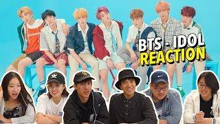 Baixar REACTING TO BTS (방탄소년단) 'IDOL' OFFICIAL MV 🔥 | Kool Oppas & Unnies