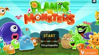 Repeat youtube video Plants vs Monsters Walkthrough Gameplay (Level 1 - 10) by Kitsune Syo