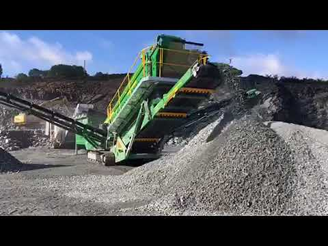 Metso LT106 Jaw Crusher & McCloskey S190 Screener Working in Quarry